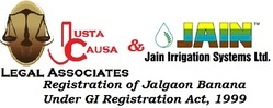 JC Signed Mou with Jain Irrigation