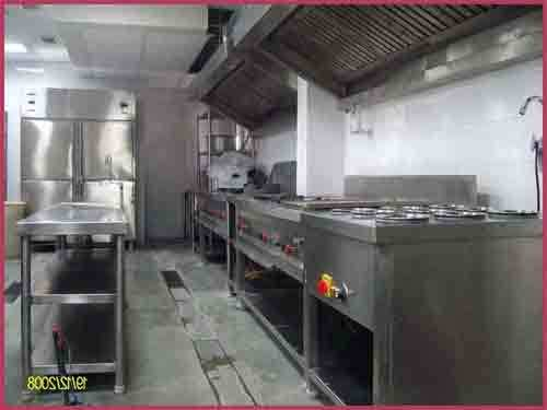 Hotel Kitchen Equipment - Cooking Gas Range and Bain Marie