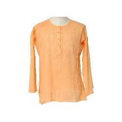Short Round Neck Kurta
