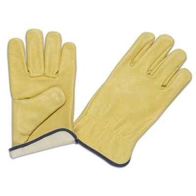 Driving Gloves Yellow Grain
