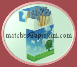 Flip Top Match Box