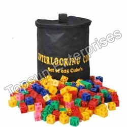 Interlocking Plastic Cubes