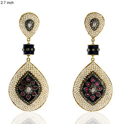 Designer Precious Dangle Earrings