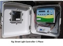 Intelligent Street Light Controller System Automation