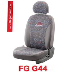 Grey Fabguard Jacquard Car Seat Covers