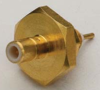 SMB Female Bulkhead Receptacle Connector