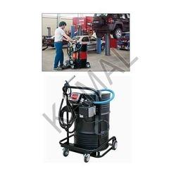 mobile unit for oil dispense