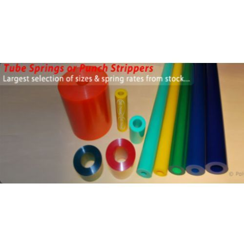 Urethane Tube Springs or Punch Strippers