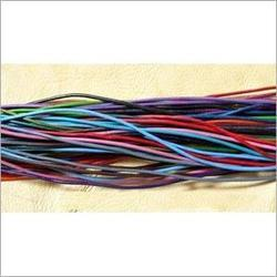 Waxed Leather Cords In Various Colors
