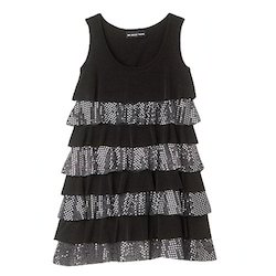 girls sleeveless frocks