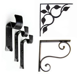 Iron Shelf Brackets