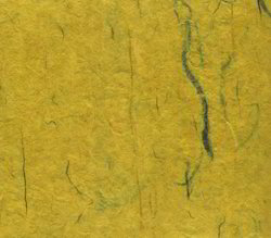 Yellow Lokta Handmade Papers