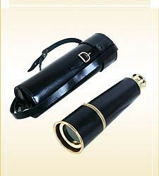 Pullout Telescope Leather Sheathed