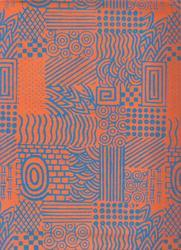 Wood Block Printed Papers For Art, Crafts, Gift Wrapping
