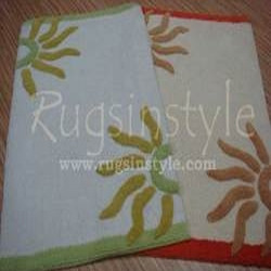 Rugs Table Tufted Bathrugs Multi Color
