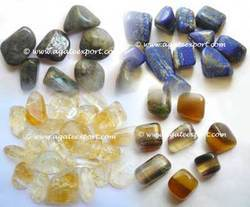 Hand Polished Tumbled Stones