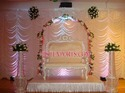 Wedding Crystal Pearl Stage Set