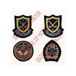 Hand Embroidered Emblems