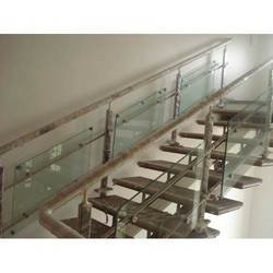 Glass & Iron Railing