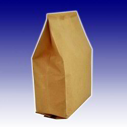 Kraft And White Paper Bags