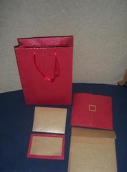Wedding Cards With Matching Paper Bags