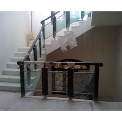 Wood Work Steel Railings