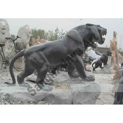 Marble Handicraft Lion Statue