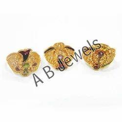 AGR 03 Gold Rings