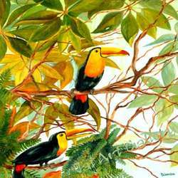 Birds Canvas Paintings