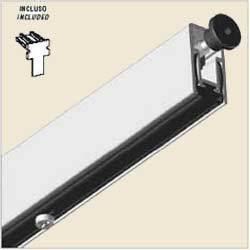 Acoustic Drop Down Seals - Self Extinguishing Profile