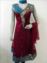 Georgette Salwar Kameez Kurti Suit