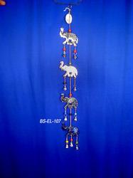 Brass Elephant Hanging