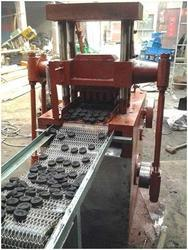 Shisha or Hookha Charcoal Briquette Making Machine
