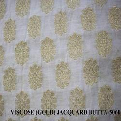Viscose (Gold) Jacquard Butta