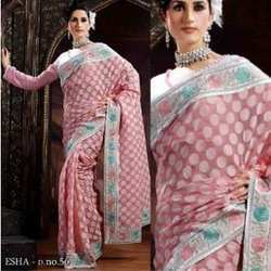 Super Cotton Embroidered Sarees