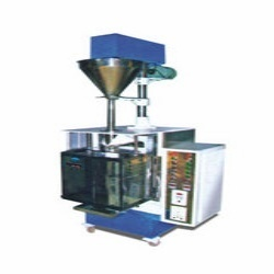 Volumetric Auger Filler with Collar Type FFS Machine