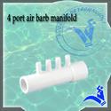 4 Port Air Barb Manifold