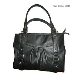 Ladies Leather Fancy Hand Bag