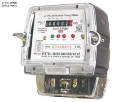 Single Phase Static Energy Meters