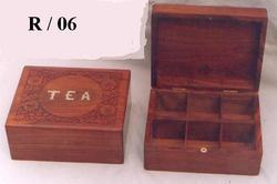 Square Wooden Jewelry Boxes