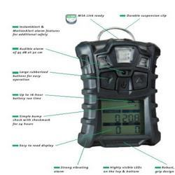 Portable Gas Detection >> Gas Detectors - Altair 5 Multiple Gas Detector Distributor / Channel Partner from Delhi.