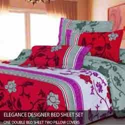 Bed Sheet - Wedding Bed Sheet Set, Bed Sheet Set & Designer Bed