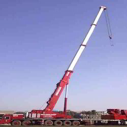 200 Mt. Tyre Mounted Telescopic Boom Crane