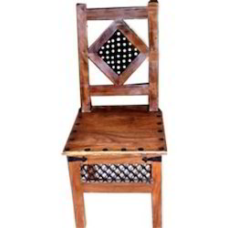 Iron Mesh Worked Chair