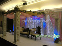 Wedding Stage With Black Furnitures