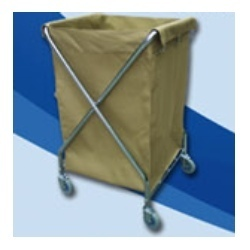 X-Shape Laundry Cart