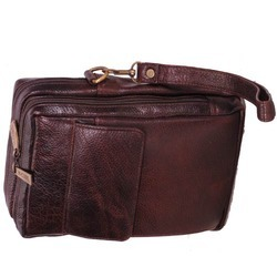 Leather Conference Folder Bag
