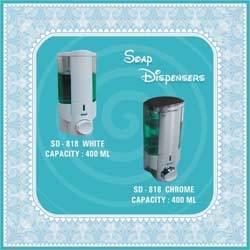 White Soap Dispensers
