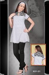 Cotton Designer Kurtis