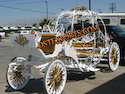 Wedding Golden Cinderala Carriage